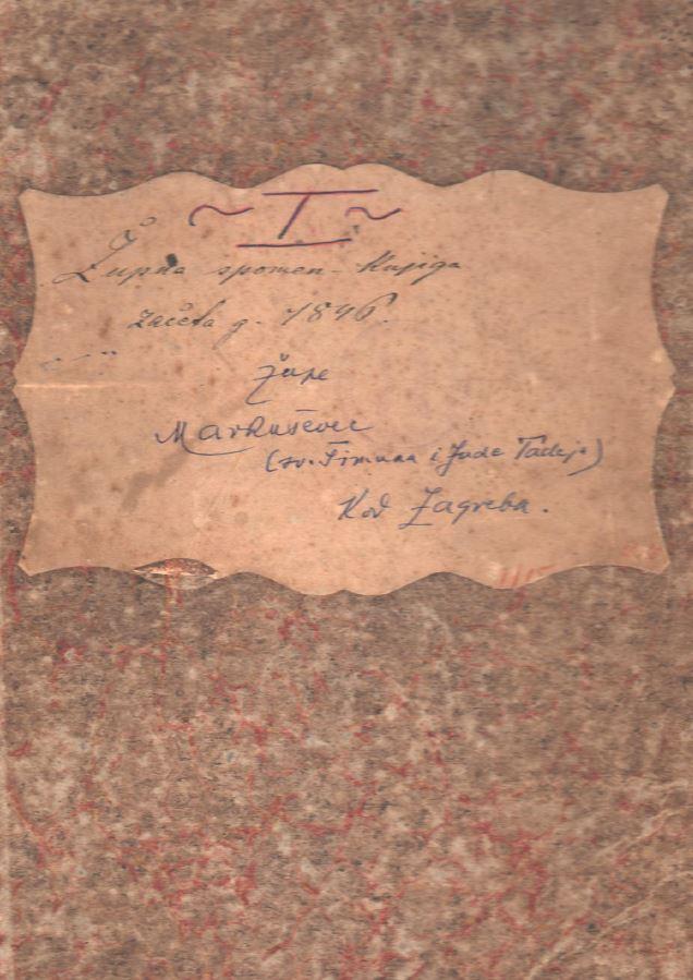 Spomen knjiga Župe od od 1911 do 1935