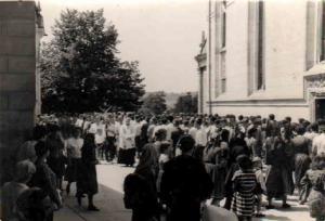 015 Naša procesija na Mariji Bistrici 1975. g.