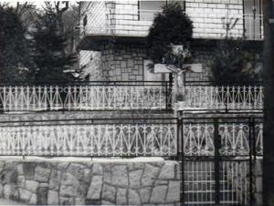 025 Novo raspelo na Kršišću postavljeno i posvećeno 1975.