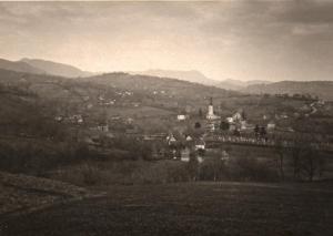 Pogled na centar Markuševca 1951.