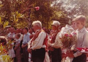 0014 07-09-1980Slavlje Anđelske nedjelje i 25 godišnjica službe u Markuševcu župnika Krešimira Ivšića