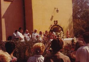 7-1980 rujna  Slavlje Anđelske nedjelje i 25 godišnjica službe u Markuševcu župnika Krešimira Ivšića